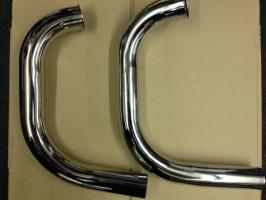 Greeves Siameese Exhaust Pipes