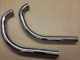 Ambassador Twin Exhaust Pipes