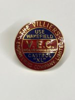 Enamel Flywheel Cover Badge (VEC) M2501