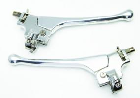 Pair Of Alloy Amal / Doherty Comp Levers