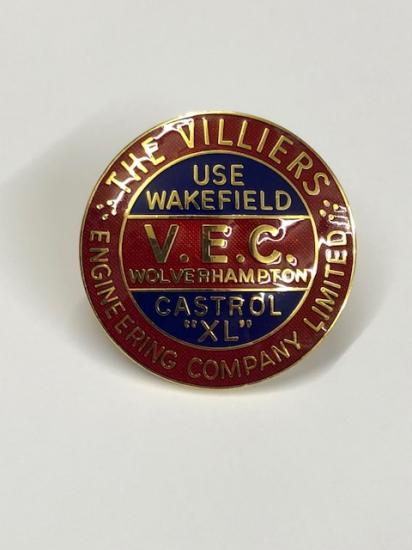 Enamel Flywheel Cover Badge (VEC) M2501 - Click Image to Close