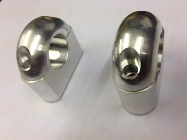 Greeves Roadster Hadle Bar Clamps