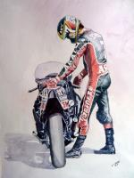 Barry Sheene Print