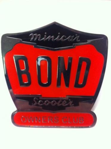 Bond Owners Club Badge