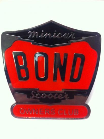 Bond Owners Club Badge - Click Image to Close