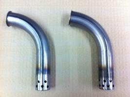 James Military LightWeight (ML) Exhaust Front Pipes