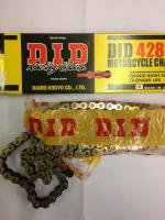 DID Rear Chain - 428 (1/2x5/16) - 134P - Gold
