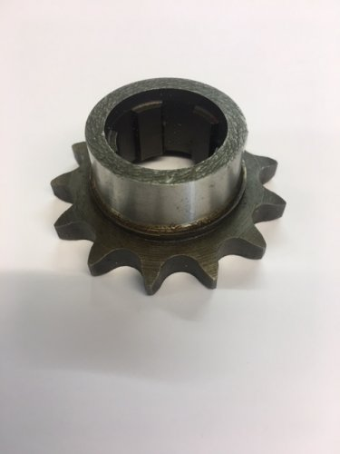 "9018/13 Albion gearbox sprocket 13 teeth 428 chain (1/2"" x 5/16)"