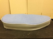 Greeves Roadster seat. ( Blue/Grey)
